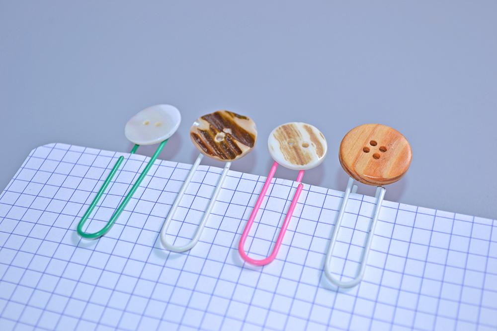 DIY – 3 marque-pages faciles fabriqués avec du trombone