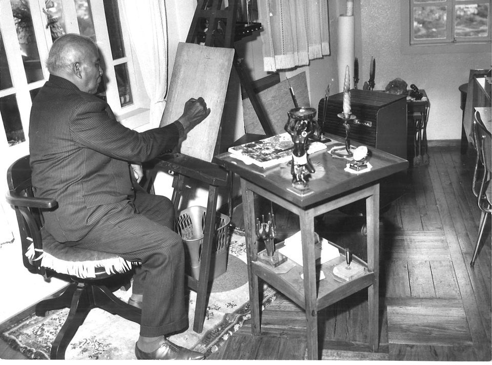 Joseph RAMANAKAMONJY, fondateur de l'art mimétique malgache